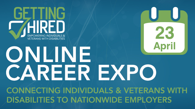 GettingHired's Online Career Expo - April 23rd