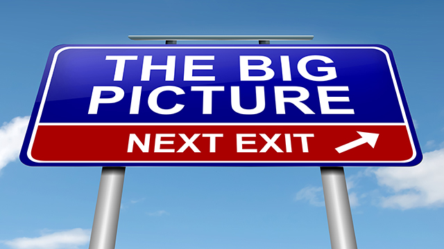 how to get to the big picture
