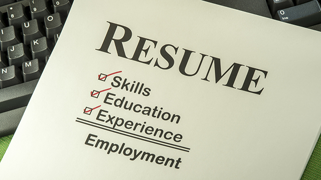 Spruce up your resume
