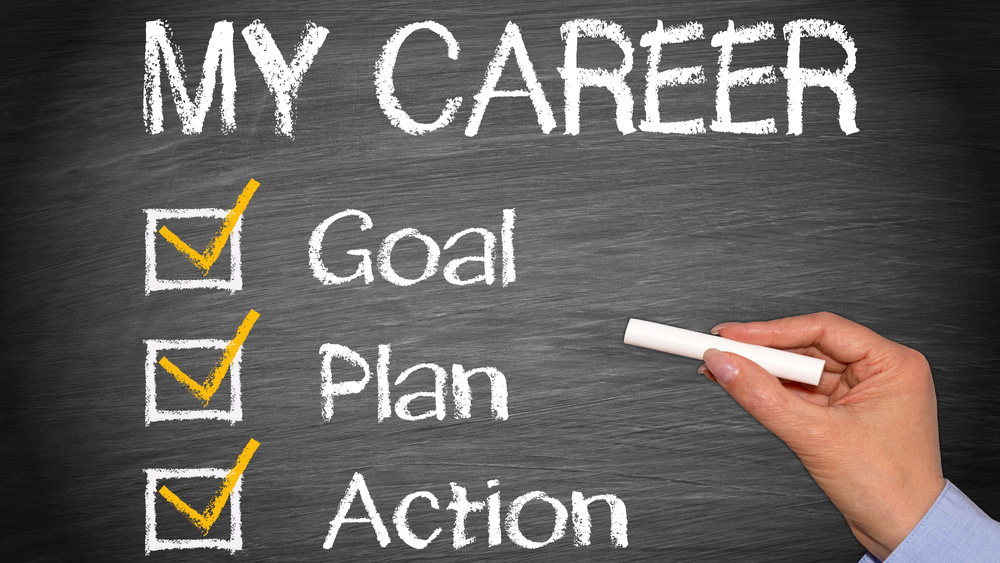 My career, goal, plan, action
