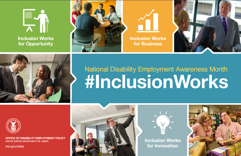 NDEAM poster: #InclusionWorks