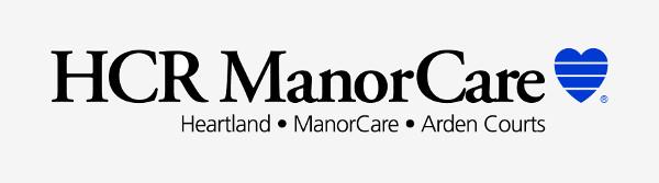 Logo HCR ManorCare: Heartland, ManorCare, Arden Courts
