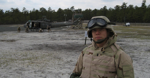 Photo of Military veteran in Microsoft Military Recruiting Program