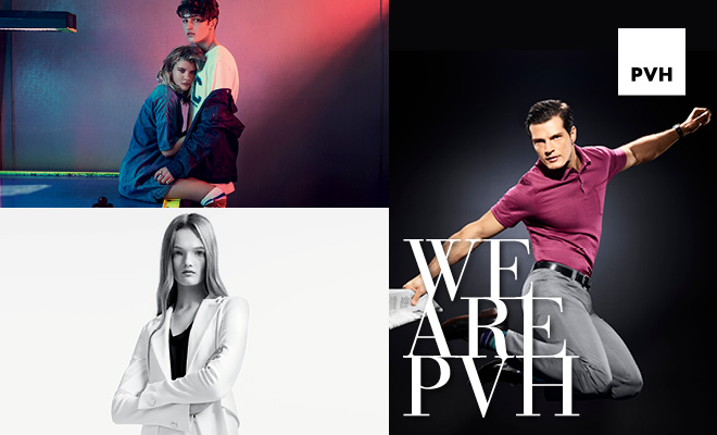 Rock Your Profile. We Are PVH: Growing Global Brands. Tommy Hilfiger, Calvin Klein, Van Heusen, IZOD, Arrow, Speedo, Warner's, Olga