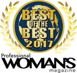 2017 Best of the Best Employer by Professional Woman's Magazine
