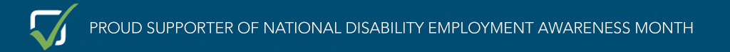 National Disability Employment Awareness Month Sponsor