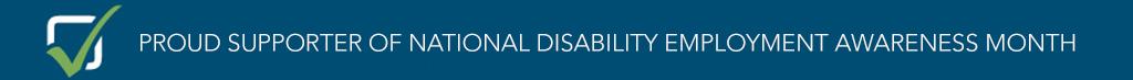 National Disability Employment Awareness Month Sponsor