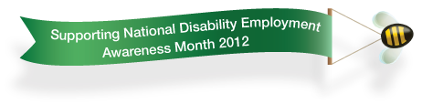 Supporting National Disability Employment Awareness Month 2012